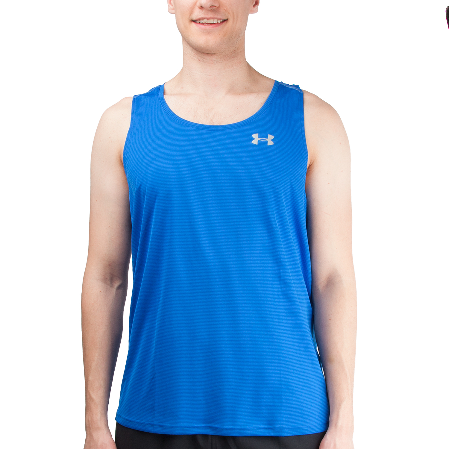 Under Armour Mens CoolSwitch Run Singlet Under Armour Apparel 1290016